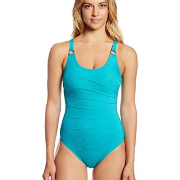 21c848aaa1b57 Calvin Klein Swim | Nwt Starburst One Piece Suit | Poshmark